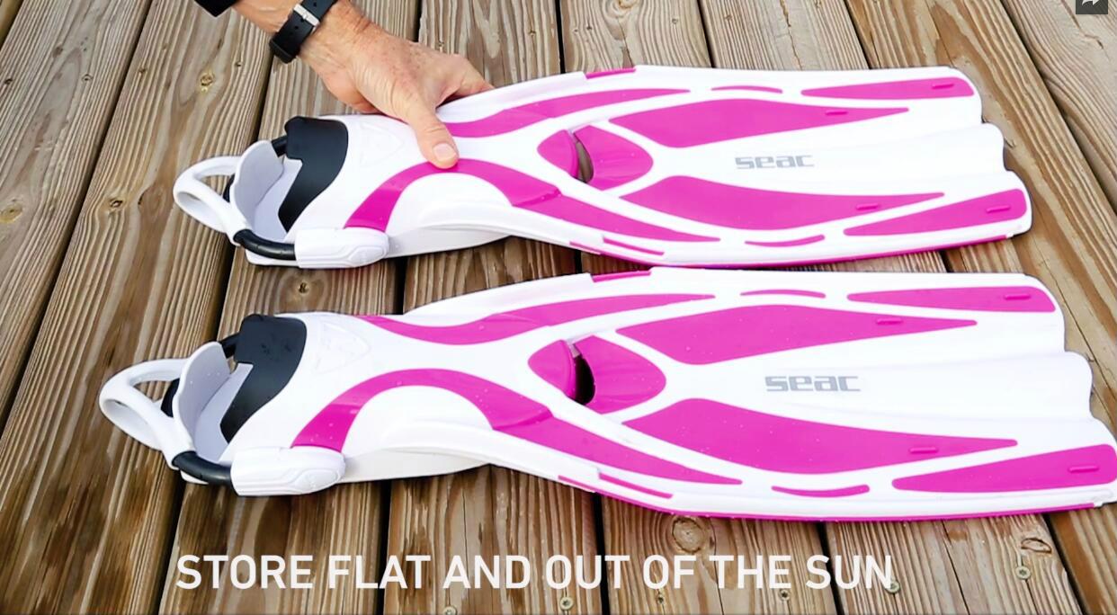 脚蹼护理| 学会正确保养脚蹼,下次才能游得更远更轻松!