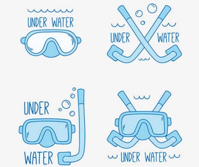 """个防止潜水面镜漏水的小技巧"""""""