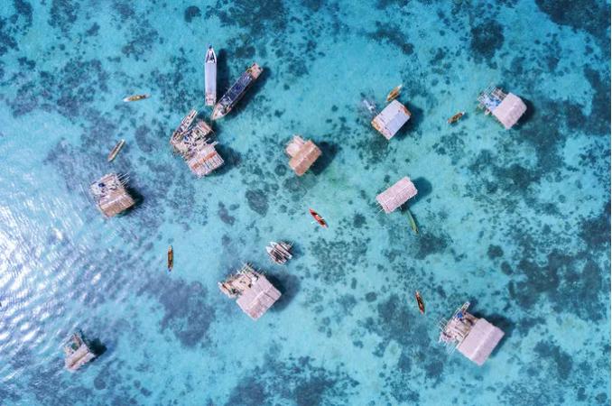 仙本那马布岛:那里生存着最后的海上吉普赛人——巴瑶族