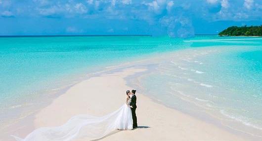 卡帕莱kapalai蜜月之旅水下婚礼 | 停留在小马代最浪漫的时刻