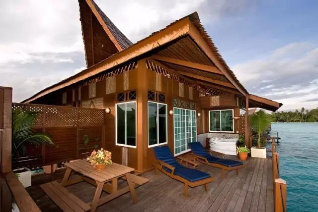 马布岛 | 东马最奢华的度假村——马布水上别墅度假村Mabul Water Bungalow