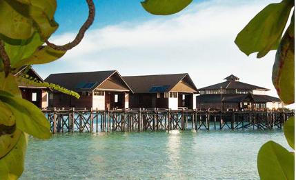 马来西亚山打根旅游攻略|兰卡央潜水度假村全介绍,兰卡央岛亲子游领略亲子游的意义!