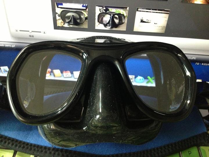 为什么面镜总是会进水?或许你没这种操作!