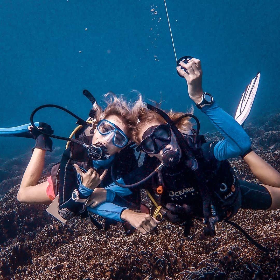 """如何才能拥有跟""""现男友""""同款海底pose?以下地方可以帮你实现!"""
