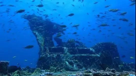 1个沉船潜点清单|昔日沉船灾难,